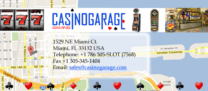 Casino Garage LLC Slot Machines Specialists